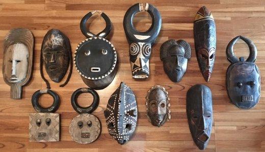 アフリカンマスクとスピリチュアルアート。アフリカ仮面販売のお知らせ